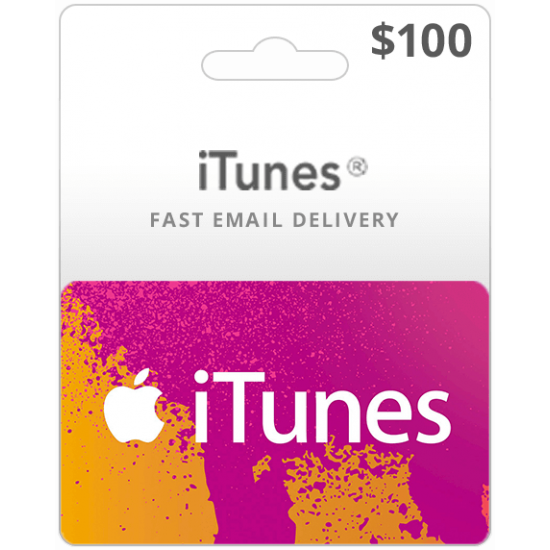 $100 USA iTunes Card (Email Delivery)