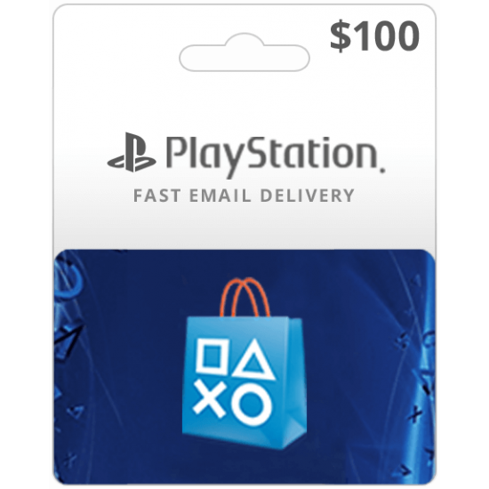 $100 USA Playstation Network Card (Email Delivery)
