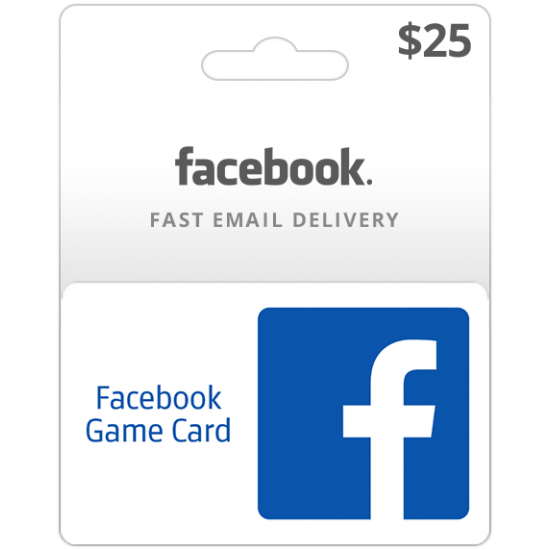 $25 USA Facebook Gift Card (Email Delivery)