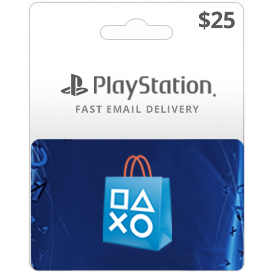 $25 USA Playstation Network Card (Email Delivery)