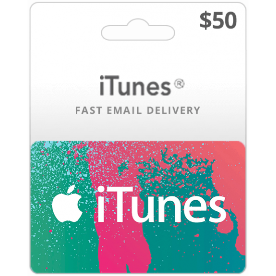 $50 USA iTunes Card (Email Delivery)