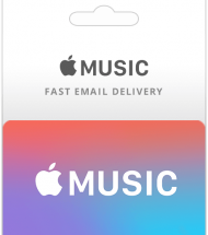 Apple Music Gift Cards